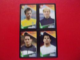 PANINI FOOT Euro 2004 Portugal N°23 143 169 233 Tobias Linderoth Christian Poulsen Olivier Neuville Panagiotis Fyssas - Panini