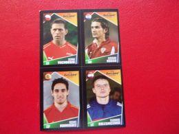 PANINI FOOT Euro 2004 Portugal N°48 124 201 215 Stepan Vachousek Giovanni Rosso Vicente Rodriguez Vladimirs Kolesnicenko - Panini