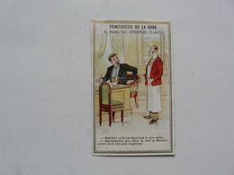 VIEUX PAPIERS - CHROMO : Teinturerie De La Gare - ARGENTEUIL - Altri
