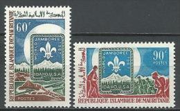 """Mauritanie YT 232 & 233 """" Scoutisme """" 1967 Neuf** - Mauritania (1960-...)"""