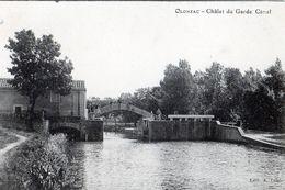 OLONZAC: Le Chalet Du Garde-écluse Et Pont D'acces Au Chalet,éditeur A.Louis,tbon état - France