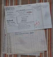 LOT De 4 55 SAINT MIHIEL 75 PARIS 11e   E. HUOT Fonderie De Cuivre - Francia