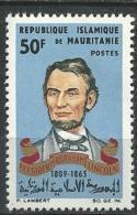 "Mauritanie YT 192 "" A. Lincoln "" 1965 Neuf** - Mauritania (1960-...)"