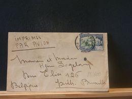 88/600  LETTRE POUR LA BELG.  1949 - Congo Belga