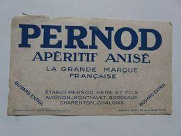 VIEUX PAPIERS - BUVARD : PERNOD - Alimentaire