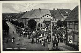 Cp Seesen In Niedersachsen, Rathaus, Straßenansicht - Allemagne