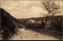 Cp Durbuy Wallonien Luxemburg, La Route Venant D'Ocquier - Otros
