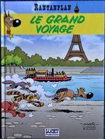 Morris - RANTANPLAN - N° 13 - Le Grand Voyage - Lucky Production - ( E.O. 06 - 1998 ) . - Rantanplan