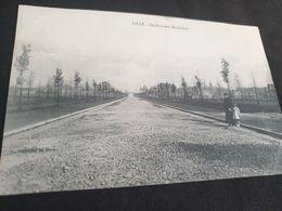 Carte Postale Ancienne Le Nouveau Boulevard De Lille Début 20ème - Lille