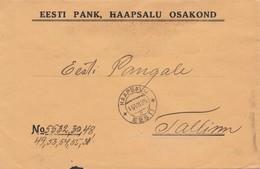 Estland: 1925: Brief Aus Haapsalu - Estonie