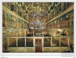CITTA'  DEL  VATICANO:  CAPPELLA  SISTINA  -  PER  LA  GERMANIA  -  FG - Vatican
