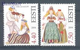 Estonia 2004 Mi 498-499 MNH ( ZE3 EST498-499dav106A ) - Estland
