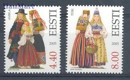 Estonia 2005 Mi 533-534 MNH ( ZE3 EST533-534 ) - Estland