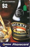 AUSTRALIA $2 BAILEYS IRISH CREAM ALCOHOL NOT FOR SALE !!!!!!! AUS-313 READ DESCRIPTION !! - Australie