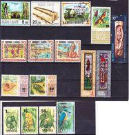 Samoa 1971-1988 Lot Of Stamps Used O - Samoa