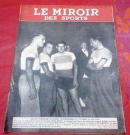 Miroir Des Sports N°29 Octobre 1941 Sport Sous L'Occupation Edmond Delfour Rouen Elite Allemande Boxe Football à Paris - Sport