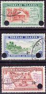 Tokelau 1967 New Currency Overprint Definitives Complete Set Mi 6-8 Used O - Tokelau