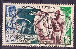 "Wallis Et Futuna 1949 75ème Anniv. De L'UPU Yv A11, Petite Déchirure, Belle Oblitération ""MATA-UTU"" Used O - Used Stamps"