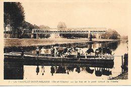 35    La Chapelle Saint-melaine      Le Bac & Le Pont Detruit D L'ilette - Altri Comuni