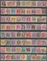"""Belgique. Roi Albert I, Type """"Houyoux"""".  90 Perfins Différents - Unclassified"""