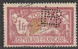"""France Timbre Perforé Monogramme """"BM"""" - France"""