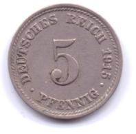 DEUTSCHES REICH 1915 D: 5 Pfennig, KM 11 - [ 2] 1871-1918 : Imperio Alemán