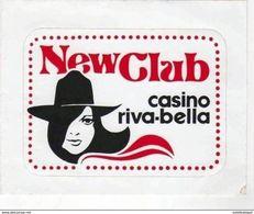 NewClub     Casino Riva Bella - Pegatinas