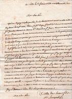 1784 SETTE (34) LAS Pierre BOUSQUET à Son Père - Compte-rendu De Transports Maritimes Et Ses Paiements - Historische Dokumente