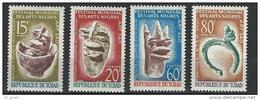 "Tchad YT 119 à 122 "" Festival Arts Nègres "" 1966 Neuf** - Tchad (1960-...)"