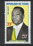 "Tchad YT 126 "" Timbre Surchargé "" 1966 Neuf** - Tchad (1960-...)"