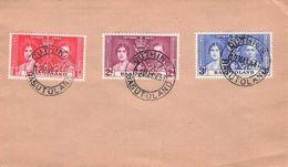 BASUTOLAND - FDC 1937 CORONATION  /ak529 - 1933-1964 Kronenkolonie