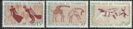 "Tchad YT 146 à 148 "" Peintures Rupestres "" 1967 Neuf** - Tchad (1960-...)"