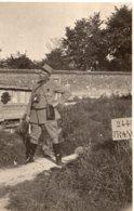 B70134 Cpa Carte Photo à Identifier Militaire - A Identifier
