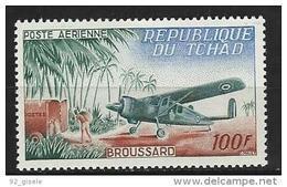 "Tchad Aerien YT 12 (PA) "" Broussard "" 1963 Neuf** - Tchad (1960-...)"