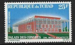 "Tchad Aerien YT 35 (PA) "" Palais Des Congrès "" 1966 Neuf** - Tchad (1960-...)"