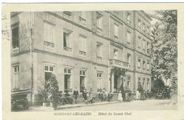 Mondorf-les -Bains (Hôtel Du Grand Chef) Ed,Schnaltz -Roussy - Mondorf-les-Bains