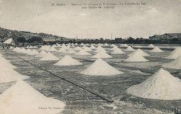 Salins Marais Salants Cette Sète  Recolte Du Sel . Salt . Sal. Salins De Villeroy - Mineral