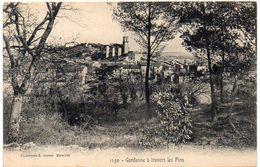 GARDANNE - Vue Générale   - A Travers Les Pins (1426 ASO) - France