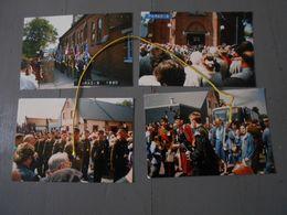 4 Photos De Paradis Lestrem 1990 Jour De Fêtes - Andere Gemeenten