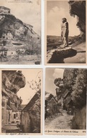 20 / 7 / 76. - LOT DE 9 CPA & 1 CPSM  DES EYZIES - Toutes Scanées - Cartes Postales