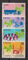Zambia - 1990 - N°Yv. 506 à 509 - SADCC - Neuf Luxe ** / MNH / Postfrisch - Zambia (1965-...)