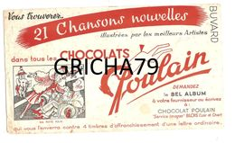 BUVARD - CHOCOLAT POULAIN - Kakao & Schokolade
