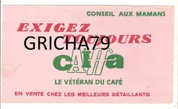 BUVARD - CAFE CAIFFA LE VETERAN DU CAFE - Koffie En Thee