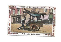 Chromo - Chocolat Guerin Boutron - N°49 - Naples - Marchant Ambulant - Guérin-Boutron