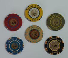 TOKEN JETON CROATIA CASINO SOLEI UMAG - Casino