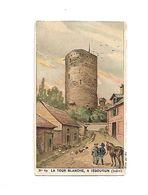 Chromo - Chocolat Guerin Boutron - N°69 - La Tour Blanche à Issoudun - Guérin-Boutron