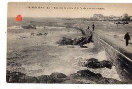 35827-ZE-44-BATZ-Vue Vers La Jetée Et La Pointe De Casse-Caillou-------------animée - Batz-sur-Mer (Bourg De B.)