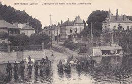 Montargis : L'Abreuvoir Au Tivoli Et La Rue Julien Bailly - Montargis