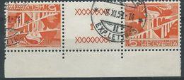 TT-/-057-. Tête-bêche  Avec Pont, N° 482b,  Obl., FEUILLE N° 1,  Cote 2.00 €   , Je Liquide - Tete Beche