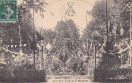 Montargis : Jardin Du Pâtis Décoré Pour La Fête De La Madeleine - Montargis